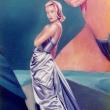 Sturm zieht auf am Horizont der bürgerlichen Welt * Ausschnitt: Frau im Abendkleid * vergrößern