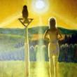 Sonnenuntergang mit Sigrid und Bussart * vergrößern