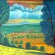 Blick vom Hasenkopf über Cyriaxweimar zum Dünsberg * vergrößern
