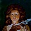 Mädchen im Kerzenlicht * vergrößern