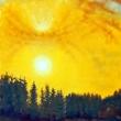 Sonnenuntergang * vergrößern